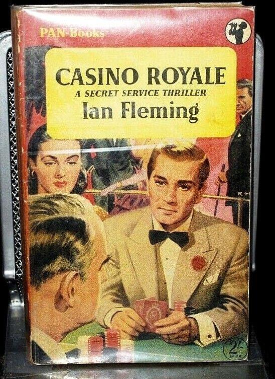 * Rare * Ian Fleming Casino Royale 1st Pan Paperback Edition 1955