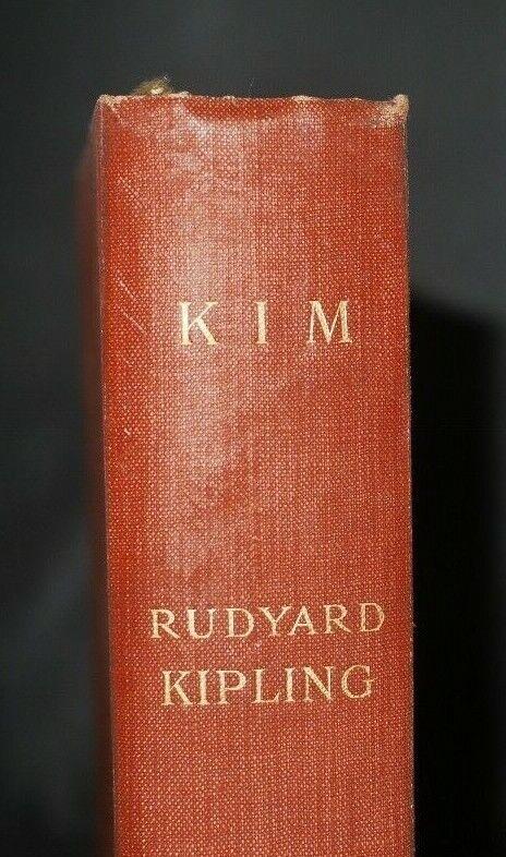 * Uncommon * Rudyard Kipling Kim First UK Edition 1st Issue 1901