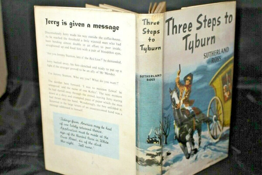 Sutherland Ross Three Steps to Tyburn 1st/2nd 1955